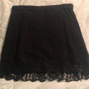 Volcom lace mini skirt